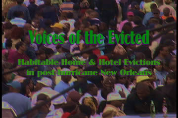 Voices of the Evicted Video.