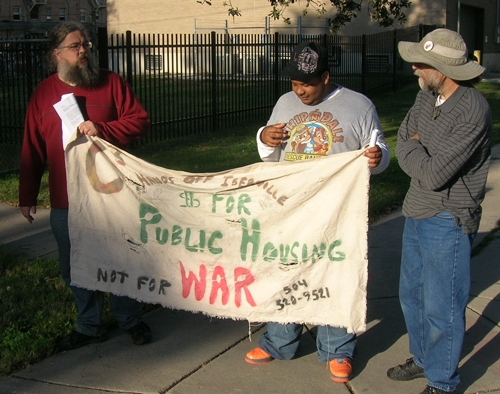 Public housing resid...