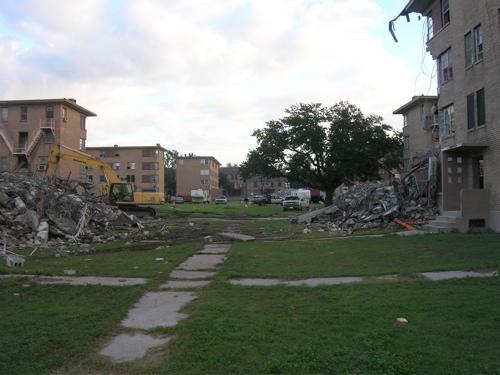 Demolition has been ...