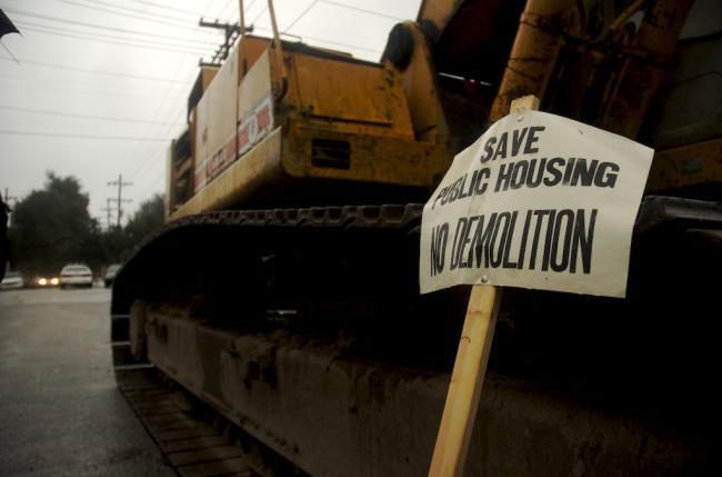 Save Public Housing ...