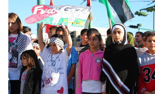 Free Gazan say the c...
