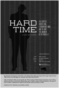 New Orleans and Baton Rouge screenings of HARD TIME, about Robert King and the Angola 3